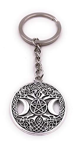 H-Customs Pentagrama Zodiaco Luna patrón círculo
