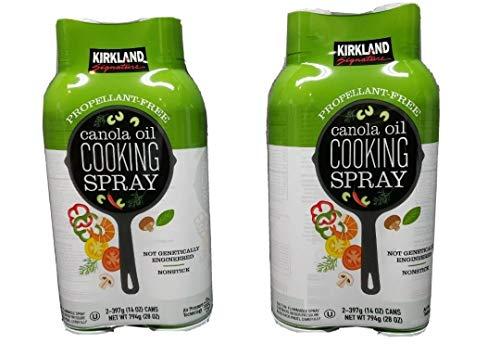 Canola Oil Cooking Spray 4-397g (14 oz) Cans (4 x 397 g (14 oz))
