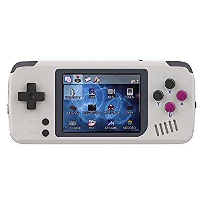 "BITTBOY PocketGo - Portable Retro Gaming Handheld Emulation Console ; OpenDingux OS, gmenu2x, 2.4"" Display, 8GB MicroSD Card"