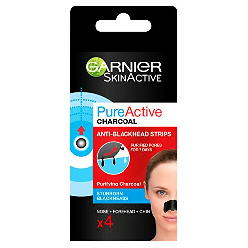 Garnier Pure Active Anti-Blackhead Charcoal Nose Strips for Clear and...