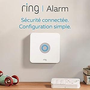 Ring Alarm Kit 5 pièces, Système de sécurité domestique avec surveillance assistée optionnelle, Sans engagement à long terme, Fonctionne avec Alexa