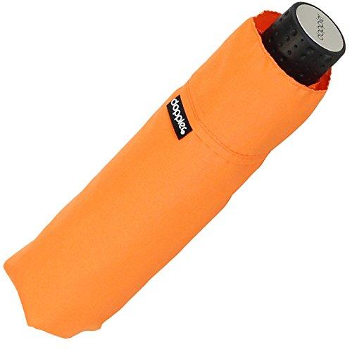 Doppler Regenschirm Mini- Taschenschirm Havanna Stick - sturmfest Uni orange