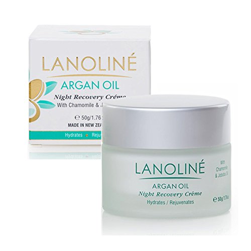 Lanoline New Zealand Argan Oil Night Recovery Cream 50gr/1.76oz by Lanoline