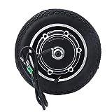 DAUERHAFT Motor de neumático de Scooter Fácil de Instalar Motor de Cubo de Rueda Motor de Cubo de Scooter Freno Tipo Tambor, para Bicicleta eléctrica