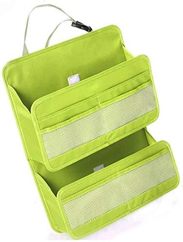WDINN-gj Car Back Seat Organiser Waterproof Multi Pockets IPad Tablet Holder Kids Kick Mats for Kids and Toddlers FamilyTravel Accessories