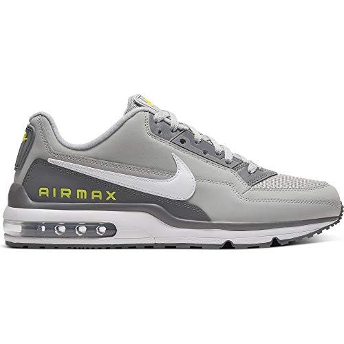 Nike Air MAX Ltd 3, Zapatilla De Correr para Hombre, Lt Smoke Grey/White/Smoke Grey, 41 EU