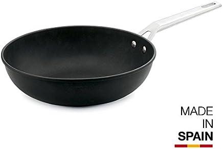 Valira Ind Aire Wok, Aluminio, Negro, 30 cm