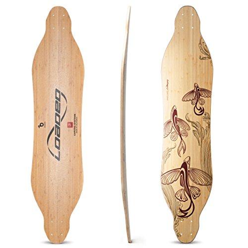 Loaded Boards Vanguard Bamboo Longboard Skateboard Deck (Flex 5)