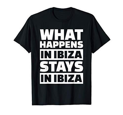 Lo que pasa en Ibiza se queda en Ibiza Camiseta