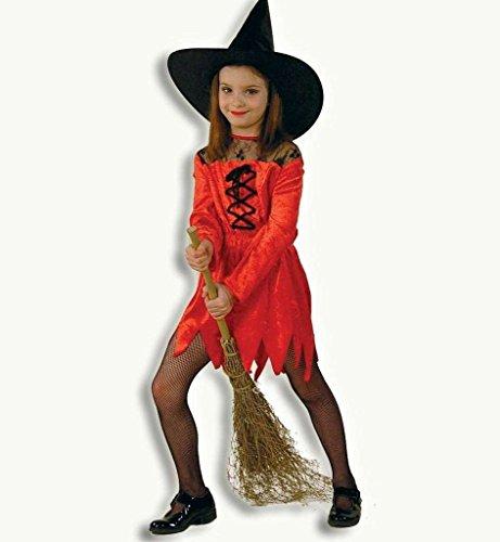 BABY-WALZ Kleid Satansbraten Kinderkostüm Karneval, Größe 152, rot