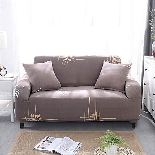 ASPZQ Sólido de Color Antideslizante Combinación elástico con Todo Incluido, Universal sofá de Cuero Cubierta, Cubierta de Polvo Tela Europea,AJ,145 to 185cm