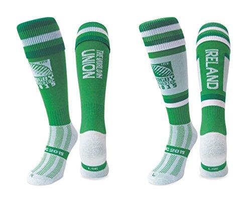 RWC 2015 Ireland Rugby Socks (X-Large 12-14)