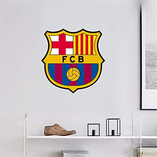 Wandaufkleber 3D Wandtattoo FC Barcelona Sport Fußball Team Logo Anmelden
