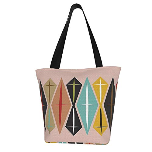 Mcm Diamond Reusable Grocery Shopping Tote Bags Ecofriendly Portable Storage Handbag With Zipper