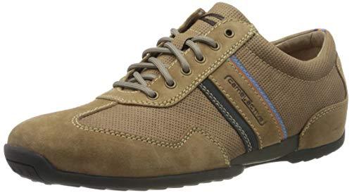 camel active Herren Space Sneaker, Braun (cord/navy 01), 46 EU