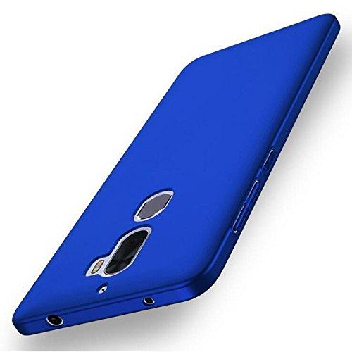 Tutoy Esmerilado Antideslizante Resistente Pc Duro Caso para Leeco Coolpad Cool1 Dual-Azul