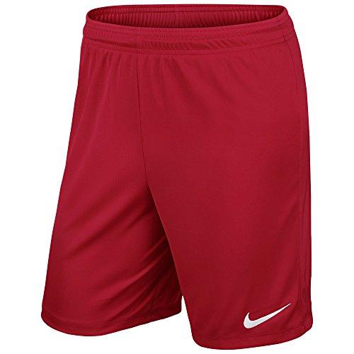 Nike Kinder Park II Knit Shorts mit Innenslip Trainingsshorts, University Red/White, L