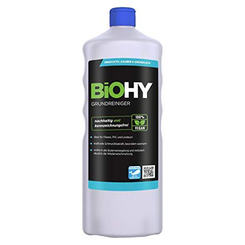 BiOHY Grundreiniger (1l Flasche) | entfernt hartnäckige Verkrustungen & alte Pflegefilme | reinigt schonend alle säure- und wasserfesten Oberflächen in Küchen und Lebensmittelbetrieben