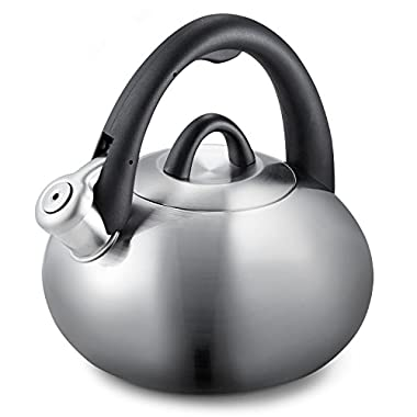Calphalon 2-Quart Stainless Steel Tea Kettle with Whistle