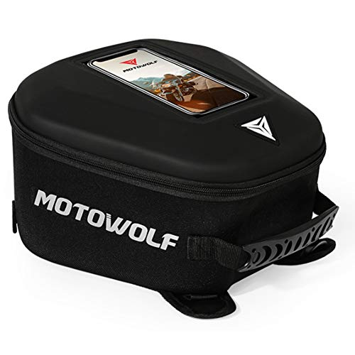 Motorrad Hecktasche Lancei Tankrucksack Fuel Tank Bag With Mobile Phone Window Hard Case Waterproof With Headphone Port Night Reflective Cycling Club