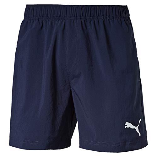 PUMA Herren Ess Woven Shorts 5 Zoll, Peacoat, XXL