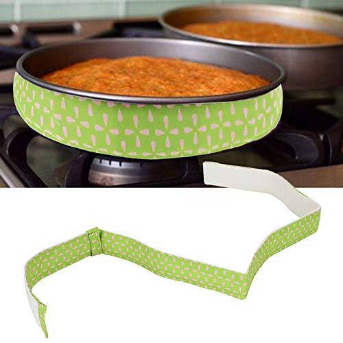 KIKYO Hornee el cinturón Uniforme, 5 Minutos en Agua fría Antes de Usar, para Usar Durante el horneado.(Pink Green 78043C)