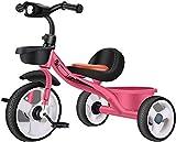 Knoijijuo Marco Triciclos Triciclo Acero De Alto Carbono, Niños Triciclos De...
