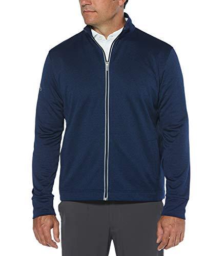 Callaway Veste de golf en polaire à manches longues et fermeture Éclair intégrale pour homme Taille XXXL Blueprint Heather