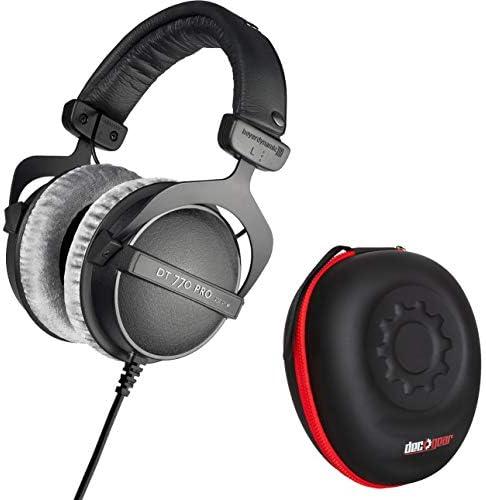beyerdynamic DT 770 PRO 250 Ohms Studio Headphones with Deco Gear Hardbody Case Bundle product image