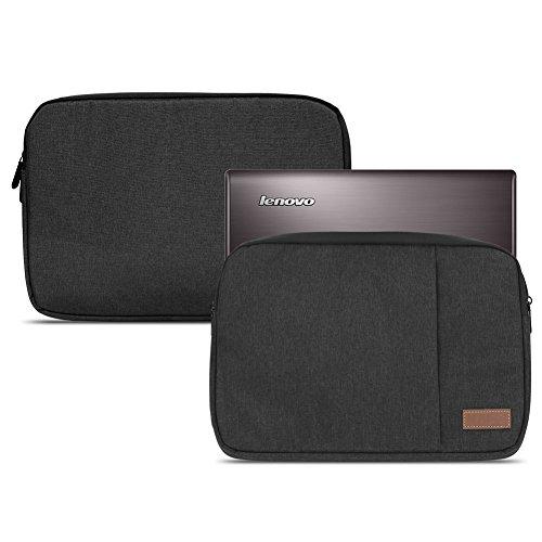 NAUC Lenovo Yoga 900 / 900S / 910/510 / 710/730 Tasche Hülle Schwarz Sleeve Hülle 13,3-14 Zoll Cover