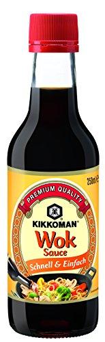 Salsa Wok KIKKOMAN, paquete de 2 (2 x 250 ml)
