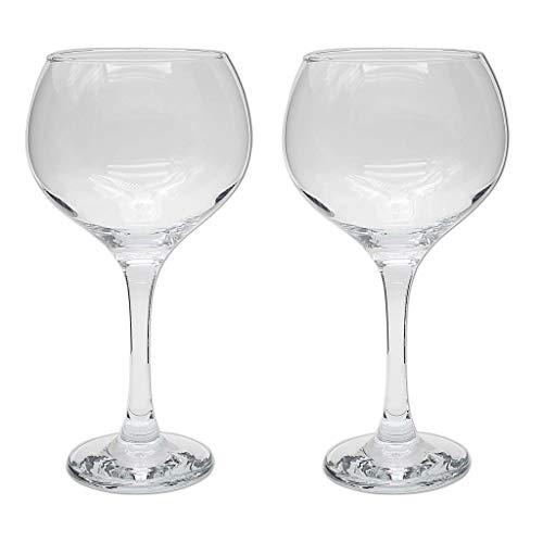 la galaica | Set de 2 Copas de Cristal para Gintonic - Colección COMBY | Regalos Ideales para Bodas, Aniversarios y Cumpleaños | Regalos Originales