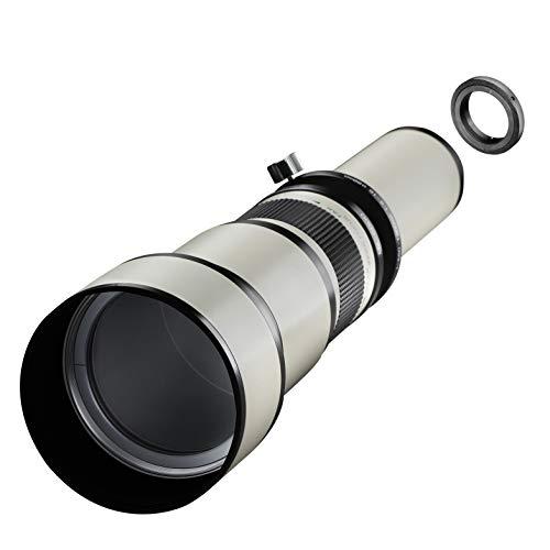 Samyang MF 650-1300mm F8.0-16.0 DSLR Nikon F – DSLR, CSC Zoom-Linsenobjektiv, Teleobjektiv, manueller Fokus, Filterdurchmesser 98 mm, für Vollformat und APS-C Sensor