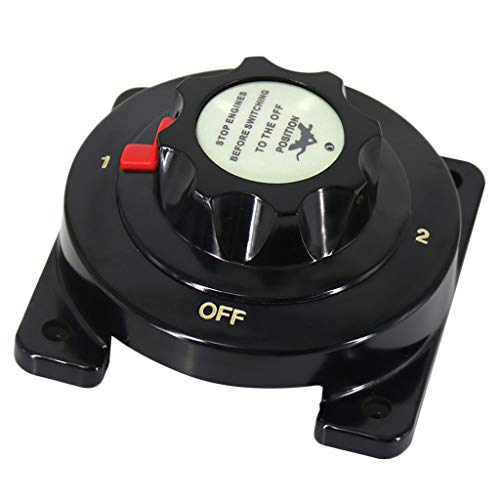 KESOTO 4-Position Dual Batterie Wahlschalter Trennschalter für Boot Jacht
