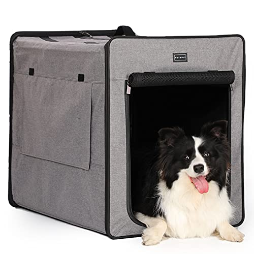 Petsfit Lightweight Foldable Soft Dog Crate