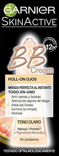 Garnier LuminoJuventud Crema BB Ojos RollOn Tono Claro  7 ml