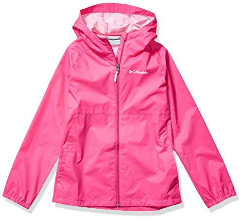 Columbia Girls' Big Switchback II Jacket, Pink Ice, X-Large