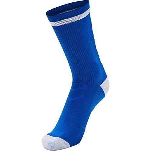 Hummel Sportsocken Elite Indoor Sock Low 204043 True Blue/White 39-42
