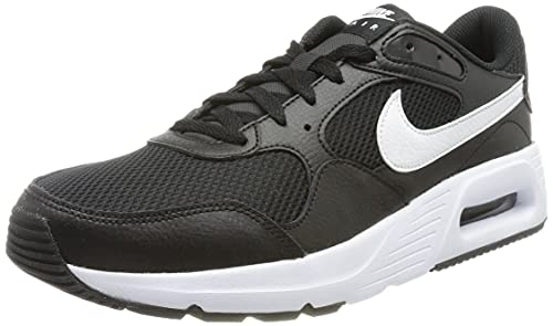 Nike Air Max SC, Scarpe da Corsa, Black/White-Black, 43 EU