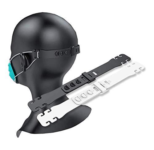10PCS Maskenhalter, EWIGE Verstellbare Ohrenschoner Ohrenschutz Mundschutzhalter Ear Saver Extender