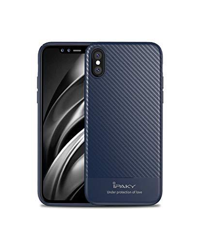 Ikijcover - Carcasa original para iPhone X, de silicona, ultrafina, suave, de silicona