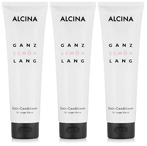 3er Glatt Conditioner Alcina Ganz Schön Lang 150 ml