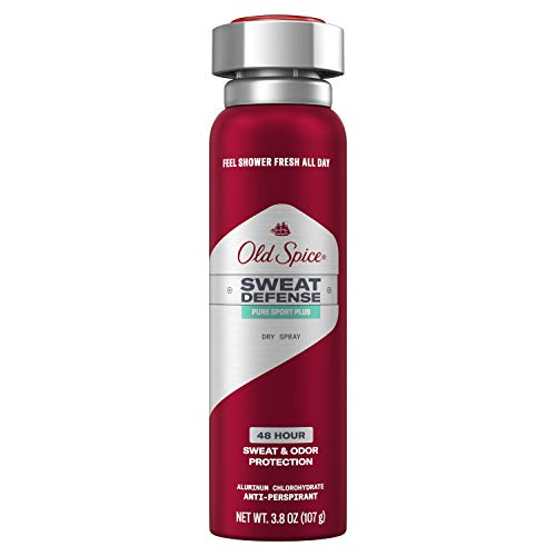 Old Spice Antiperspirant and Deodorant for Men, Invisible Spray, Pure Sport, Lemon Lime Scent, 3.8 Oz (Pack of 12)