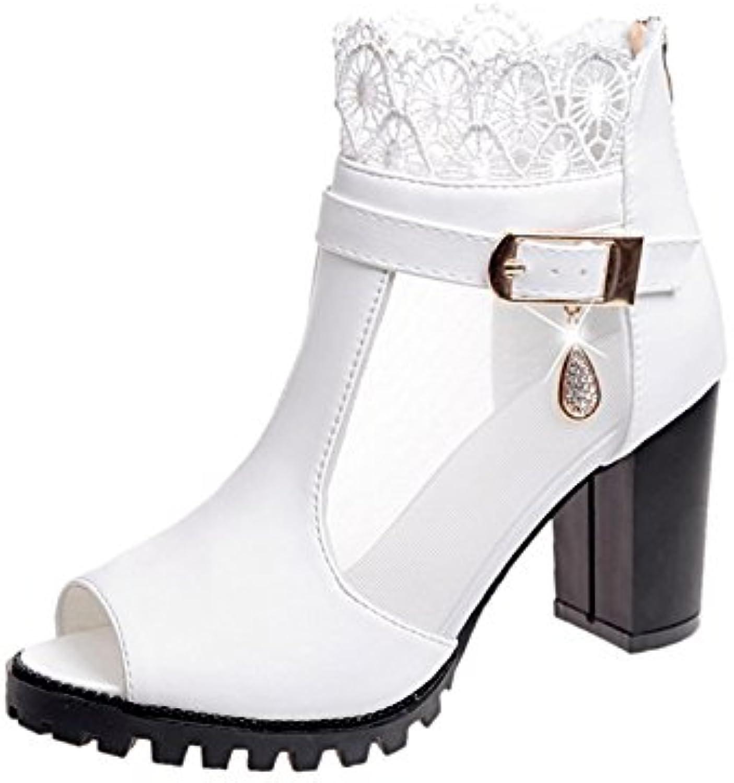XYJHER Sandalen Damen Sandalen Damen Schuhe, Fisch Mund, Schuhe, Gaze, SANDALEN, Frauen, Sommer, etc.    Ausgezeichnetes Preis    Wonderful
