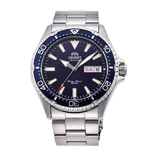 Orient Reloj Analógico para Unisex Adultos de Automático con Correa en Acero Inoxidable RA-AA0002L19B