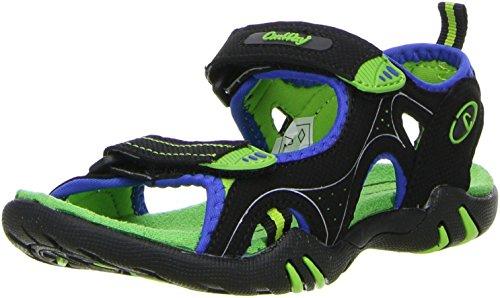 ConWay Kinder Trekkingsandalen grün/schwarz, Größe:30;Farbe:Grün