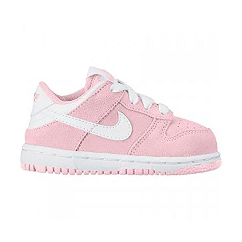 Nike Kleine Kinder Schlittschuhe von Dunk Low (TD), Rot - rot - Größe: 25