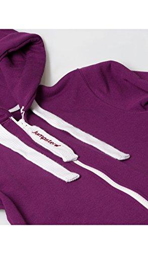 Jumpster Jungen und Mädchen Jumpsuit Kinder Overall Kids Deepest Purple - 3