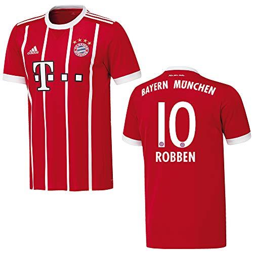 adidas Bayern Trikot Home Herren 2018 - Robben 10, Größe:XXXL
