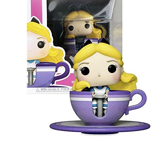Figura Pop Anime Mad Tea Party Alice # 54 con Caja Figuras De Juguete Y Acción De Vinilo Figuras De...